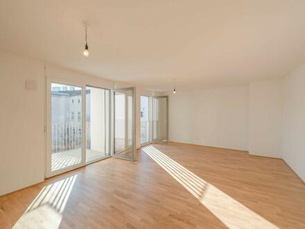 VIDEO-TOUR: hofseitige, gemütliche Erstbezugswohnung in der Margaretenstraße 25 (4 Zimmer + Balkon)!