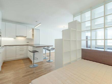 ab sofort: schickes, möbliertes Apartment mit sonniger Loggia in der Kohlgasse!