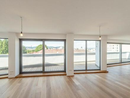 ++NEU++ Großzügige 3-Zimmer DG-Maisonette! mit Terrasse und Dachterrasse, toller WEITBLICK über den Augarten!