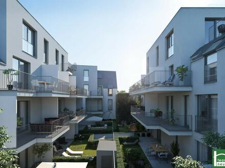 KLEIN ABER FEIN!! 2 Zimmer + Balkon! TOP PROJEKT in Aspern! Neubau! ZIEGELMASSIV BAUWEISE - Fußbodenheizung!!
