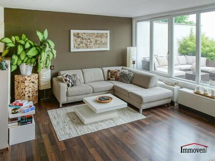 TOP LAGE: Wollen Sie DIESEN Ausblick verpassen? Terrassenwohnung mit Fernblick und Ruhelage
