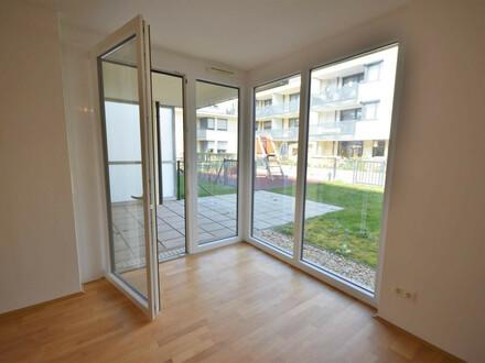 Ruhiger 2-Zimmer-Neubau mit Eigengarten!