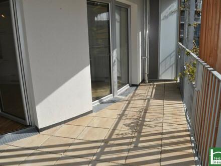 AUFGEPASST! ERSTBEZUG! Moderne 71 m² Neubau mit großem 26 m² Balkon, 3 Zimmer inkl. Komplettküche! PROVISIONSFREI!