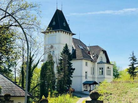 Traumhafte historische Villa mit phantastischem Blick direkt am Kurpark Baden!