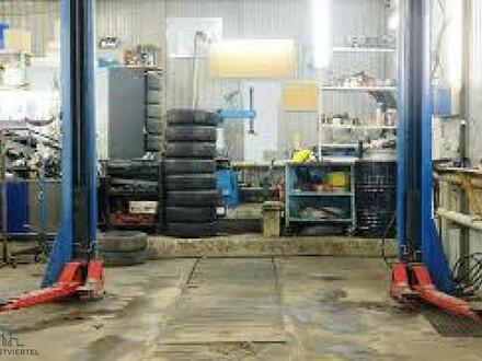 Betriebsbereite KFZ-Werkstatt mit Lackierbox und Prüfstand zu pachten!