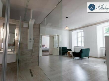 Luxus Wohnung mit Design-Glas-Bad