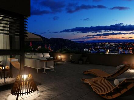 Atemberaubende Aussicht von der rund 106 m² Terrasse - an Exklusivität nicht zu übertreffen!
