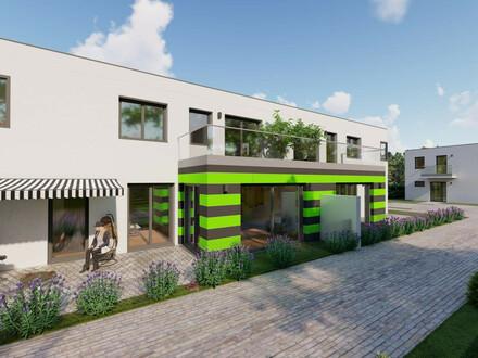 DW- Doppelhaushälfte mit coolem Garten und 2 Terrassen! Top Öffi- Anbindung nach Wien.!