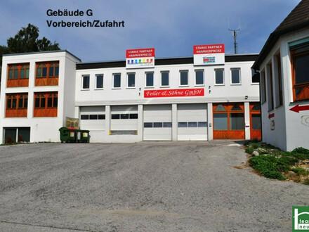 Lager, Werkstatt, Büro, Geschäft! Industriegelände Donnerskirchen! Ab 25 € Netto/Monat! 10 min nach Eisenstadt! 10 m² - 1500…