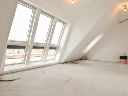 Erstbezug: 2-Zimmer-Maisonette mit großer Terrasse