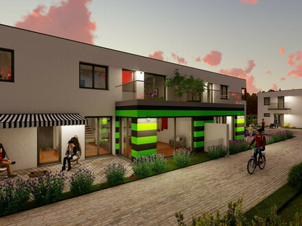 Wohnen mit Genuss, cooler Garten, Ziegelmassiv- Designerhaus- Top Ausstattung