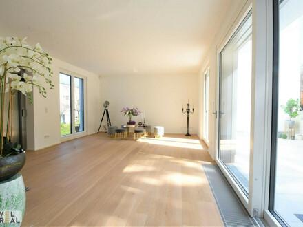 Neubau: Moderne High-end Villa - zentral angebunden und doch im Grünen - am Fuße des Wilheminenbergs!