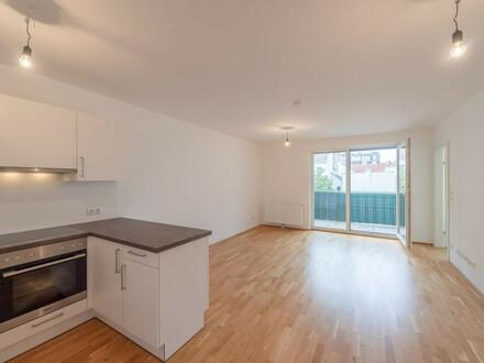 ++NEU++ Optimal aufgeteilte 2-Zimmer Neubauwohnung mit Balkon!