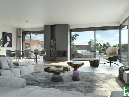 Cooles Design - Bel AIR Premium Garden Suites mit durchdachtem Raumkonzept - in toller Grünlage! Nahe zu Wien