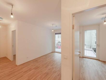 ERSTBEZUG: ideale Wohnung für eine 2er-WG mit Balkon in Zentrumsnähe (Video-Tour)!