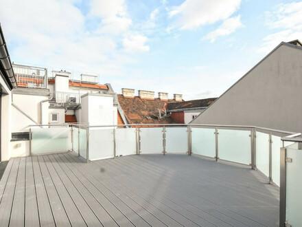 3-Zimmer-DG-Maisonette mit großer Terrasse