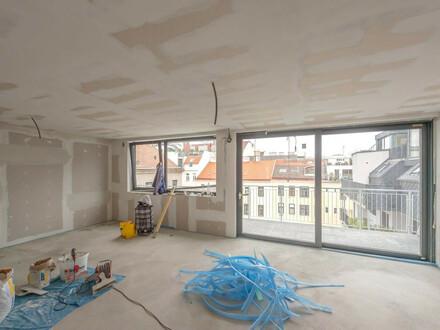 ++NEU++ ProjektGOLDSCHMIEDE, Premium 2-Zimmer DG-ERSTBEZUG mit ca. 13m² Terrasse!