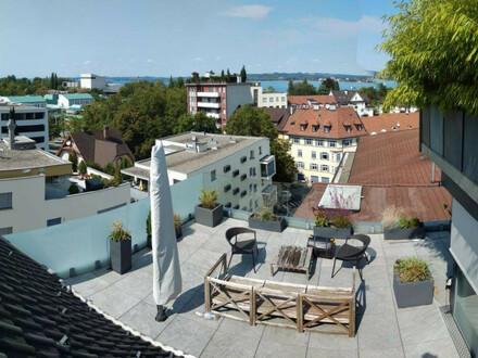Wunderschöner Bodenseeblick - Penthouse in Bregenz zur Miete