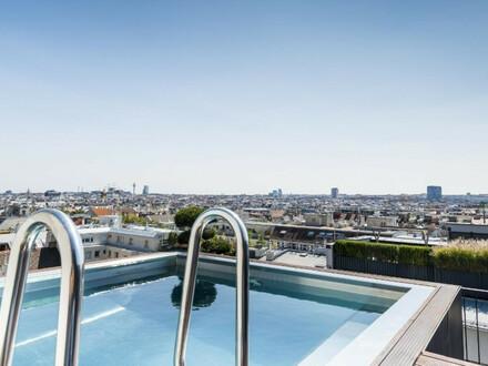 PRIVATSPHÄRE PUR - 360m² PENTHOUSE - 2 Terrassen&160m² Dachterrasse, Pool, Whirlpool, Feuerstelle, Outdoorküche