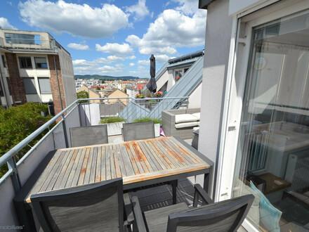 Einziehen und Wohlfühlen.... Dachgeschoss mit Sonnenterrasse und KFZ Stellplatz im Haus!