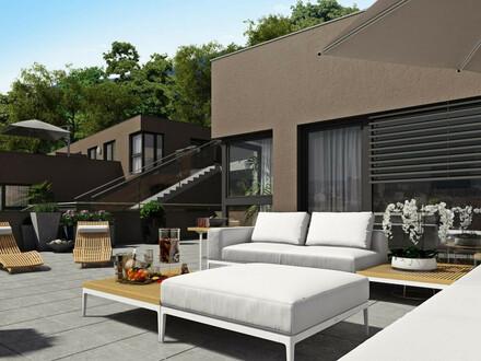 Hier entsteht Wohnraum mit Weitblick: 23,42 m² Terrasse - Eggenberg - Steinwurf vom Schlosspark entfernt!