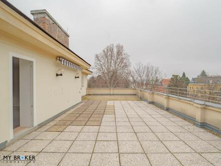 Dachgeschoss-Terrassenwohnung in bester Lage