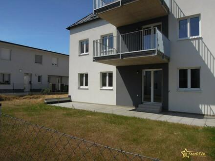 ERSTBEZUG. 117 m² WOHNFLÄCHE AUF EINER EBENE, 5 ZIMMER-ECKWOHNUNG, 220 m² GARTEN.
