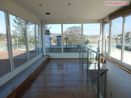 Penthouse mit ca. 200 m² Wohnfläche, ca. 200 m² Terrassenfläche, 3 Garagenplätze, Sauna und vieles mehr