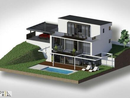 Nahe der A.I.S. - Projektierte Top Villa angrenzend zum 19. Bezirk