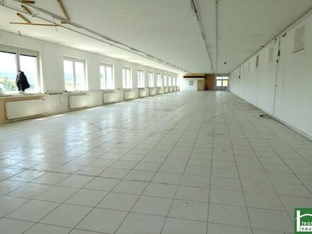 GEWERBEPARK DONNERSKIRCHEN! Bürofläche mit 450m2! Gepflegter Zustand! Stellplätze