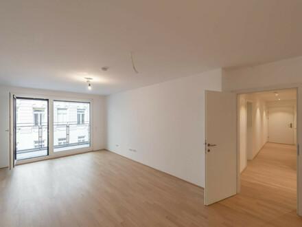 Six in the City: Hochwertiger 3-Zimmer Neubau-ERSTBEZUG mit Loggia, BESTLAGE!