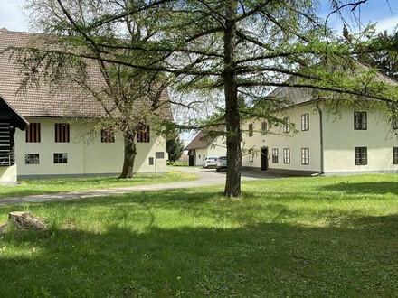 MIETE, großes, altes Bauernhaus mit 6000 m² Grund, Klagenfurt Stadtrand in ruhiger Sonnenlage