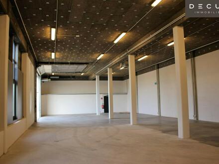 Effiziente Büros und Halle - in modernem Bürogebäude |