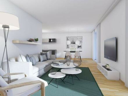 Dreiseitig orientierte Wohnung ermöglicht ein Leben mit der Sonne! Erleben Sie einzigartiges barrierefreies Wohnen