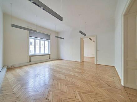 Bürofläche mit 5 Zimmern & Balkon nahe Rochusmarkt/Arenbergpark (U3) | Unbefristete Miete in Hofruhelage