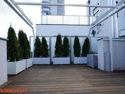 Virtueller Rundgang durch luxuriöse DG-Maisonette mit herrlicher Terrasse nahe Schwedenplatz + Tiefgarage