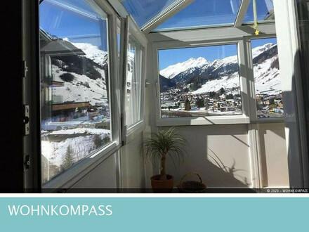 St. Anton am Arlberg: Gemütliche 3-Zimmer-Wohnung mit schöner Aussicht!