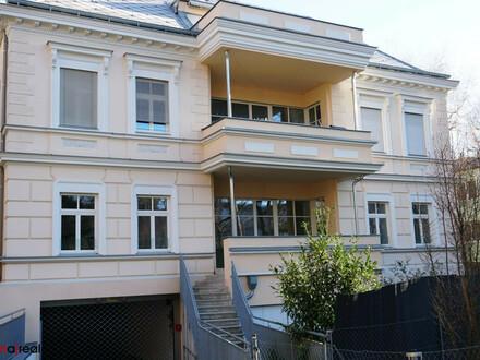 Helle, geräumige Gartenwohnung mit großem Balkon und optionalem Garagenplatz