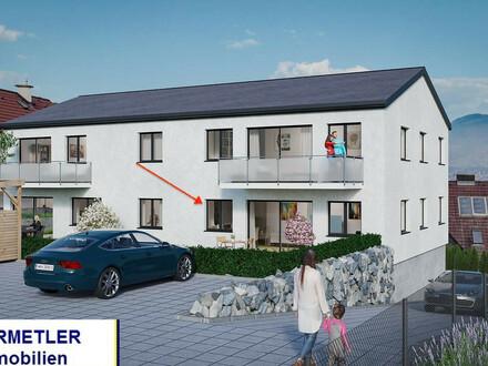 Großzügige, barrierefreie Wohnung mit Terrasse und Grünflächen