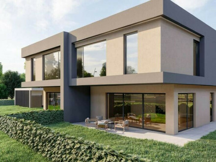 Hochwertige und Moderne Doppelhaushälfte in Dobl - Muttendorf Haus 1 / Baubeginn bereits erfolgt