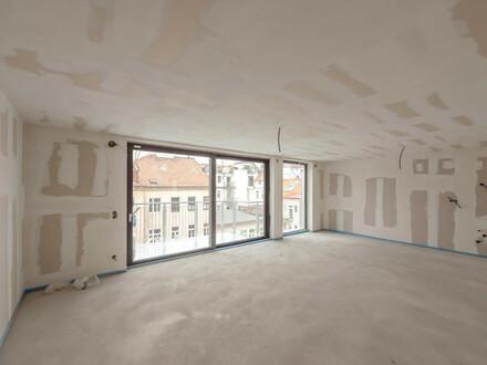 ++NEU++ ProjektGOLDSCHMIEDE, Fantastische 3-Zimmer DG-ERSTBEZUG mit ca. 17m² Terrasse!