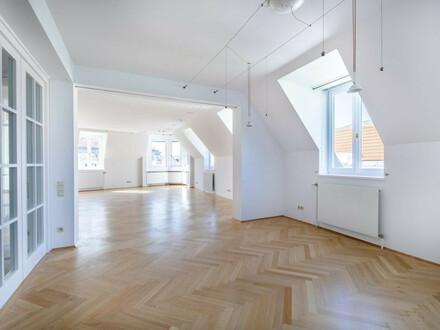 Terrassenwohnung mit 4 Schlafzimmern beim Theater in der Josefstadt! LIVE-VIDEO BESICHTIGUNG MÖGLICH