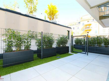 LUXUS-ERSTBEZUG, 2 Zimmer, 1.OG, West-Terrasse, Gründach, Pauschale allinklusiv Miete, Maßeinbau-Küche, zugfreie Deckenkühlung,…