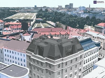 Qualität in Vollendung! Ihr Penthouse mit Wiens bestem Blick auf das Schloß Belvedere.