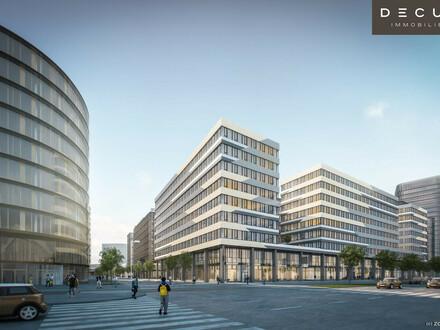 AM HAUPTBAHNHOF | Bürohaus QBC 1 im Quartier Belvedere