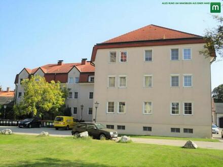 ANLAGE: ruhige und sonnige Loggia-Wohnung mit schönem Ausblick