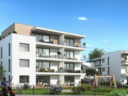 Begehrte Wohnträume mit besonderem Extra. Residieren in 92m² Neubau-Penthouse, großzügige uneinsichtige Dachterrasse