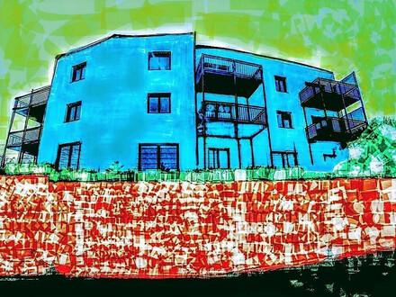 Barrierefrei: In erhöhter Lage, 3 Zimmer Wohnung mit Balkon – Fernblick über den See