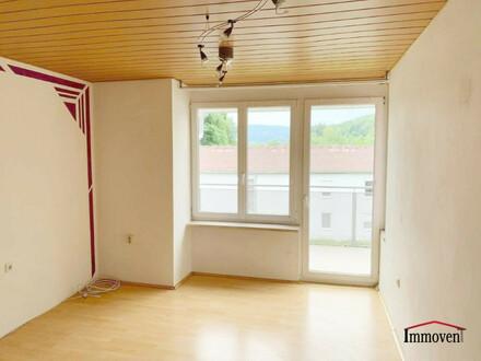 Gutgeschnittene 2-Zimmerwohnung am Fuße des Zigöllerkogel