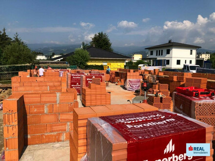 BAUBEGINN ERFOLGT! Brandneu! Neubau-Reihenhäuser in Wolfsberg -Neudau
